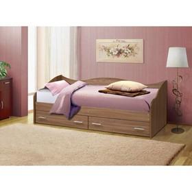 Кровать «Софа №1», 800 × 1900 мм, цвет ясень шимо светлый
