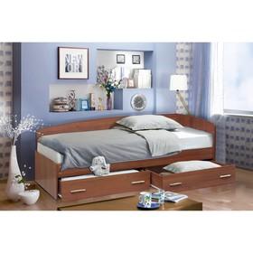 Кровать «Софа №2», 800 × 1900 мм, цвет итальянский орех