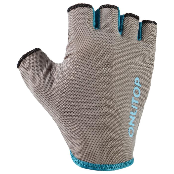 Перчатки спортивные, размер М, цвет синий