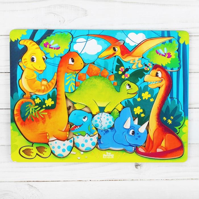 Головоломка «Прогулка с динозаврами»