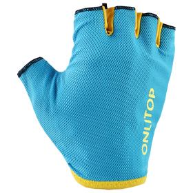 Перчатки спортивные, размер L, цвет голубой