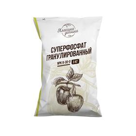 Удобрение минеральное Суперфосфат гранулированный, 3 кг