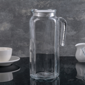 1 L Pitcher Koshem with White Lid