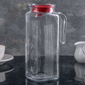 1 L Frigo Pitcher with Red Lid