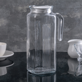 1 L Frigo Pitcher with White Lid