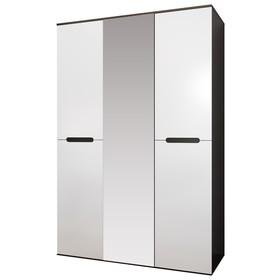 Шкаф «Вегас», МДФ, 3 двери, цвет белый глянец
