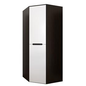 Угловой шкаф «Вегас», МДФ, цвет белый глянец