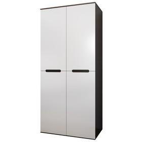 Шкаф «Вегас», МДФ, 2 двери, цвет белый глянец