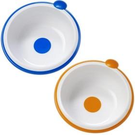 Набор детских тарелок, глубокие, 2 шт., цвет МИКС