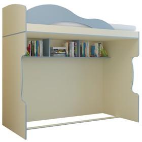 Кровать «Радуга», 2 этаж, цвет василёк