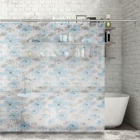Shower curtain 180×180 cm Lira, EVA