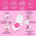 Горшок детский переносной, цвет розовый - фото 960175