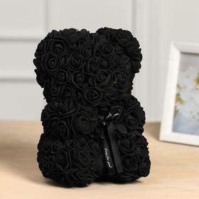 Bear rose 25 cm, Black