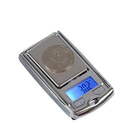 Весы LuazON LVU-03, портативные, электронные, до 200 г, серые