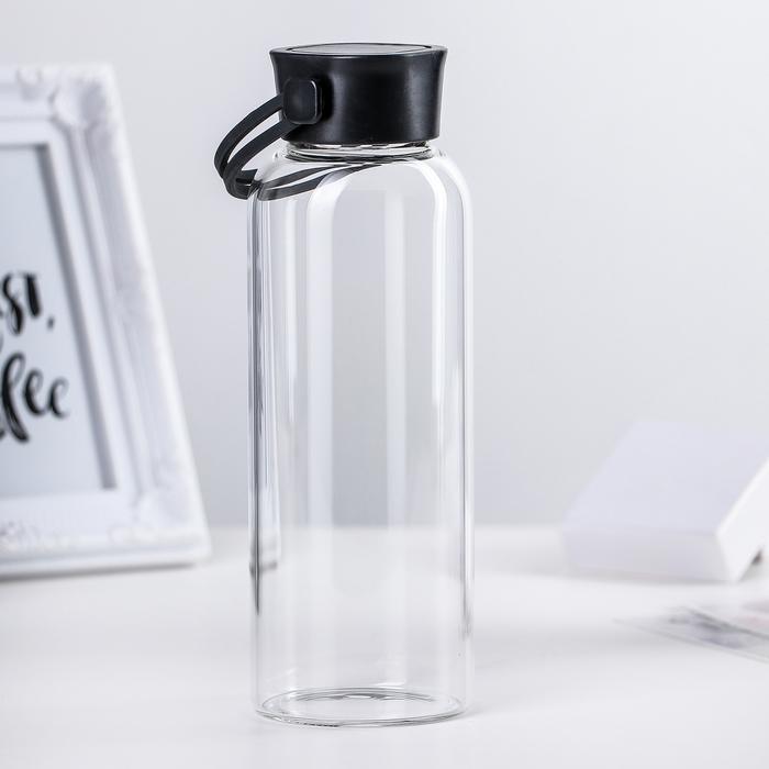 """Бутылка """"Лаконичность"""" 500 мл, 7х21 см"""