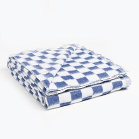 Одеяло байковое, 140х205 см, цвет микс