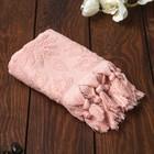 Полотенце махровое BAHAR 30х50 см, пудра, хлопок 100%, 380 г/м
