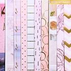 Бумага для скрапбукинга с фольгированием «Оттенки нежности», МИКС, 30.5 × 30.5 см
