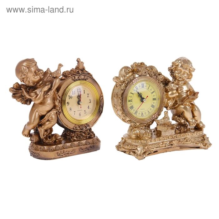 """Часы настольные """"Ангелочки"""", МИКС"""