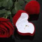 Сердце роза