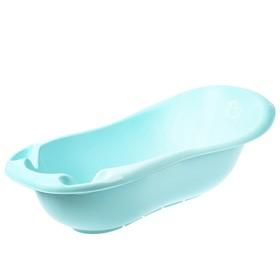 """Ванна детская """"Уточка"""" со сливом, 102 см., цвет голубой"""