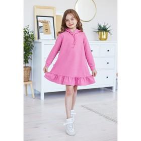 Платье KAFTAN, рост 86-92, р.28, розовый