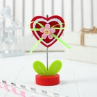 "Business card holder-clip ""Heart"""
