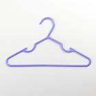 Children's hanger 29,5x17 cm, smooth, MIX color
