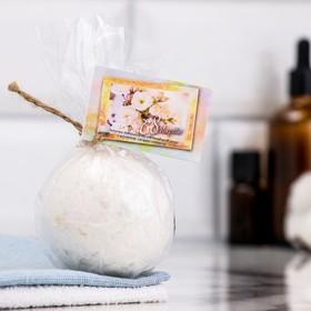 Шипучая бомбочка из гималайской соли 'Добропаровъ' с эфирным маслом миндаля, 140 гр Ош