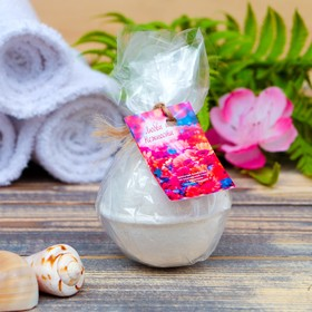 Шипучая бомбочка из персидской соли 'Любви и нежности' с эфирным маслом персика, 140 гр Ош