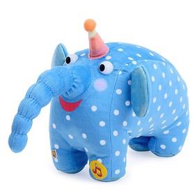 Мягкая музыкальная игрушка «Деревяшка. Слон Ду-Ду», 20 см