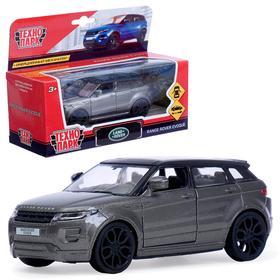 Машина металлическая Land rover range evoque 12,5см, открываются двери, инерционная, цвет серый