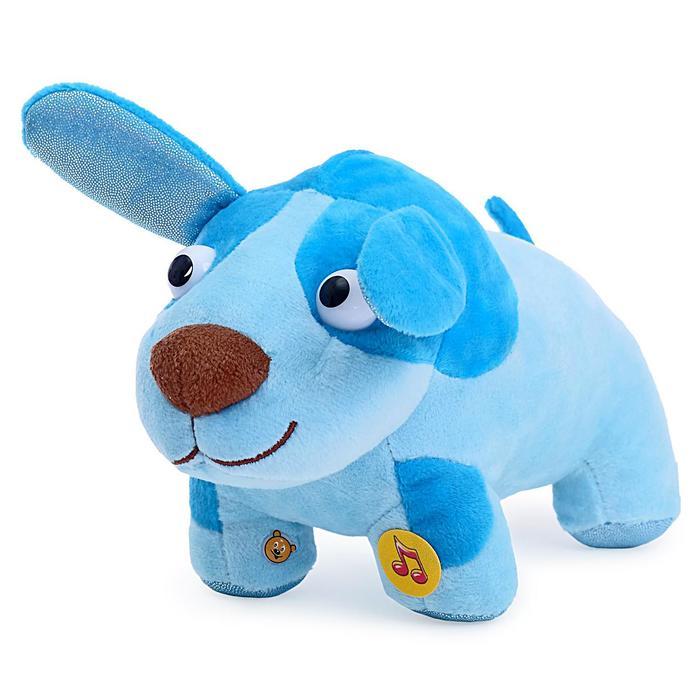 Мягкая музыкальная игрушка «Деревяшка. Собачка Гав-Гав», 20 см - фото 105499117