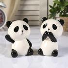 """Piggy Bank ceramic """"Little Panda"""" MIX 11х7х6 cm"""