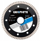 Диск алмазный GRAPHITE turbo 57H623, ультра тонкий, 230 х 22.2 мм, универсальный