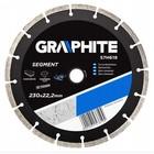 Диск алмазный сегментный GRAPHITE 57H619, 230 х 22.2 мм, универсальный