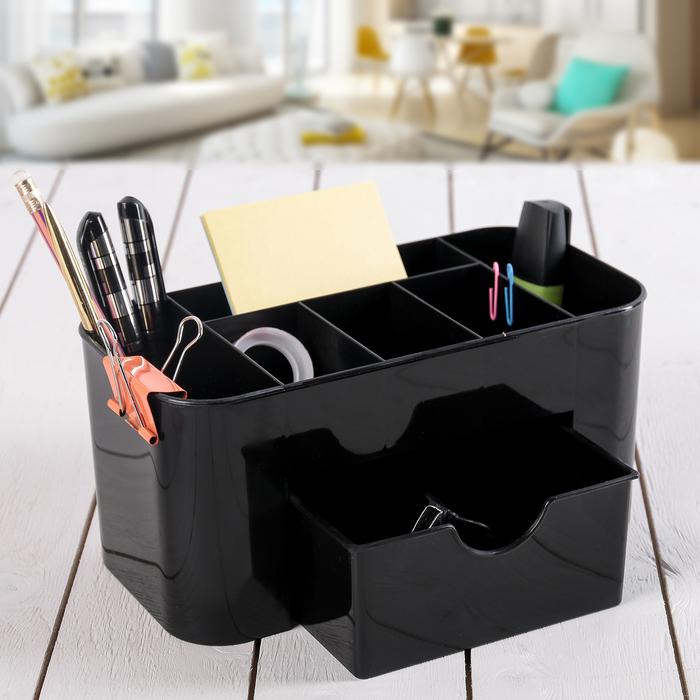 Органайзер универсальный, цвет чёрный - фото 308333858
