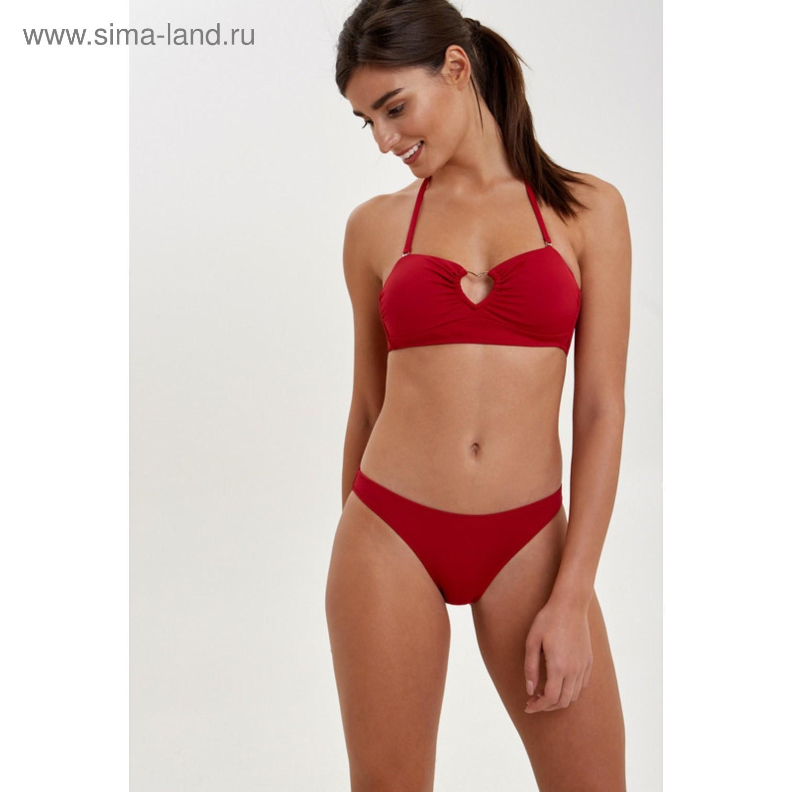 e004cb209b785 Купальник женский раздельный цвет красный, р-р 46 (M) (31204710206 ...
