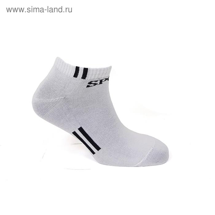 Носки мужские, цвет Белый, р-р 27
