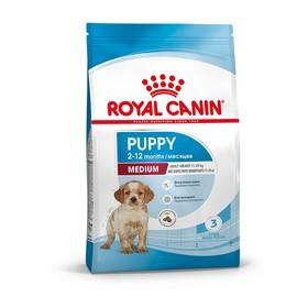 Сухой корм RC Medium Puppy для щенков, 3 кг