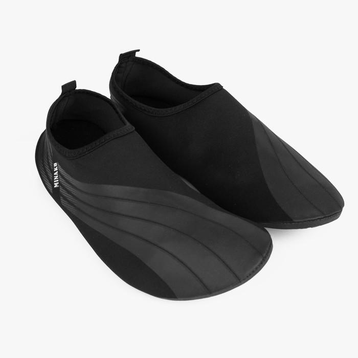 Аквашузы мужские MINAKU, чёрный, размер 42/43