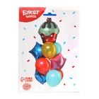 """Букет из шаров """"С днем рождения, торт с вишенкой"""", латекс, фольга, набор 11 шт. - фото 957080"""