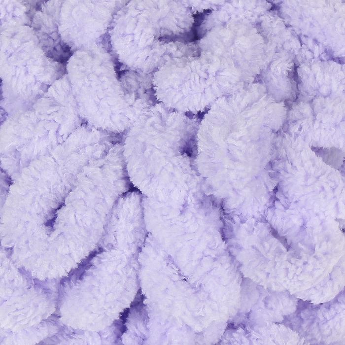 "Пряжа ""Puffy"" 100 % микрополиэстер 9,2м/100г  (146 сирень) - фото 698974767"