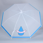 "The umbrella-cane ""Печаlity"", 8 spokes, R=45 cm"