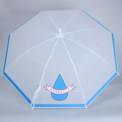 "The umbrella-cane ""Печаlity"", 8 spokes, R=45 cm"