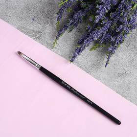 Кисть для макияжа «Home Professional», 16 см, цвет чёрный, 47220