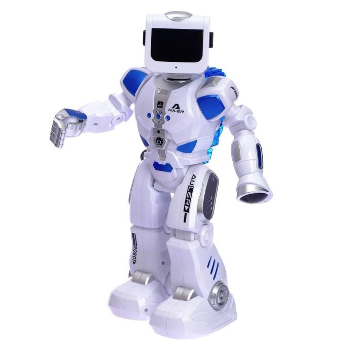 Робот радиоуправляем.