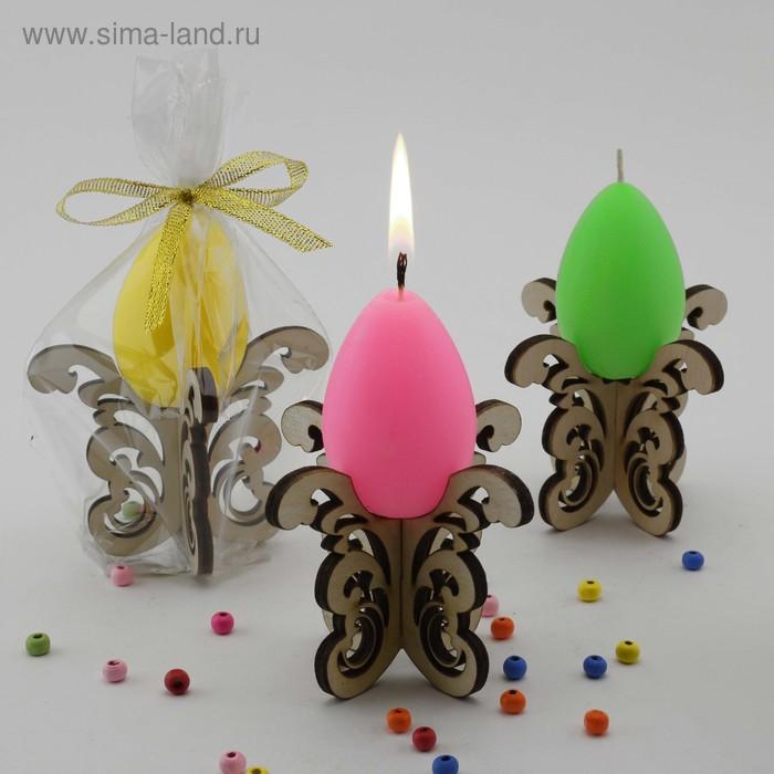 """Декоративная свеча """"Пасхальные кружева"""""""