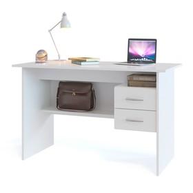 Компьютерный стол, 1200 × 600 × 740 мм, цвет белый