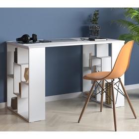 Письменный стол, 1200 × 600 × 740 мм, цвет белый